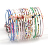 Fashion Hand-Woven Charm Bracelet Jewelry with Imported Beads