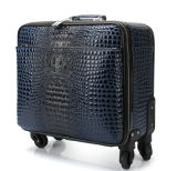 Wholesale High Quality Crocodile Pattern Trolley Luggage