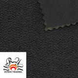 Polyester Spandex Blended Single Jacquard Knitting Fabric