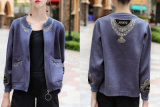Lady Embroidered Jacket with Small Jacket