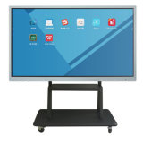 "75"" Chimei Wall Mount Big Black Aluminum Shell Wireless Screen Projector"