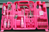 149PCS Ladies Pink Household Tool Kit (FY149B)