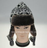 Fashion Hat Winter Hat Snow Hat with Ear-Flap Warm Hat (HY041811)