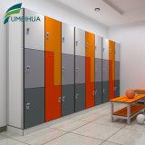 Orange Swimming Pool Changing Room 3 Tier HPL Key Locker