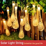 Twinkle 30 LED Water Drop Solar Light String Outdoor Waterproof Raindrop Garden Lighting LED Decorative Light