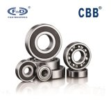 Deep groove ball bearing 6004 6001 6201 6203 6301original F&D bearing factory auto bearing