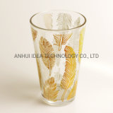 Factory Direct Water Glass Cup with Decal