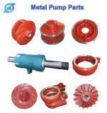 Horizontal Vertical Industrial Mine Mineral Ultra Chrome Gravel Sand Slurry Pump Parts