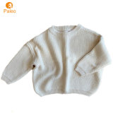 Custom Australia Style Knitted Girls Jumper Children Pullover Baby Clothes