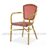 Wholesale Outdoor Aluminum Chair with Color Optional PE Rattan (SP-OC365)