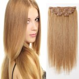 Brazilian Hair Clip-in Extensions Straight Hair 24inch
