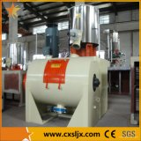 Horizontal Heating and Cooling PVC Compounding Mixer for WPC