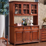 American Style Cabinet Wine Rack with Drawer (GSP19-006)