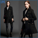 Black Classics Fashion Winter Wool Warmth Ladies Outer Wear