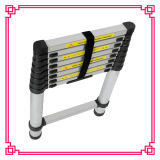5.2m Wide Step Rubber Feet Aluminium Telescopic Ladder
