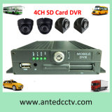 4 Channel Cheap Mini SD Card Car Mobile DVR
