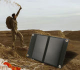 Professional Outdoor Solar Charger Portable Higher Conversion Rate Solar Charger in Folded Bag