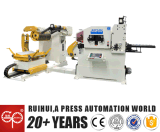 Coil Sheet Automatic Feeder with Straightener and Uncoiler in Press Line
