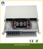19 Inch 24/48 Core Rack Mount ODF Fiber Optic Distribution Box