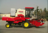 4lz-6 Wheel Type Good Price of Rice Harvester