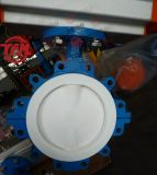 Pneumatic Lug Type Butterfly Valve with PTFE Seat