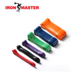 6PCS Resistance Exercise Loop Bands for Home Fitness, Strength Training, Physical Therapy, Natural Latex Workout Bands