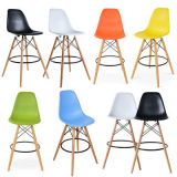 Wooden Legs Eiffel Inspired Dsw Retro Style Dining Chair White