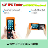 Portable 4.3 Inch Touch Screen All-in-One CCTV Test Monitor for IP Camera+Ahd+Tvi+Cvi+Optical Power Meter+Cable Tracer+ Visual Fault Locator