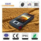 Industrial 4G Smartphone with Fingerprint Sensor/RFID Reader/Laser Barcode Scanner