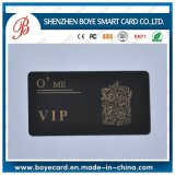 Gold Hostamp Black Luxury Plastic VIP Card