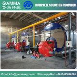 Gamma Gas & Oil Fired Horizontal 4 T/H 3-Pass Fire Tube Steam Boiler