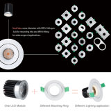 10W/13W Dimmable Interior Ceiling LED Recessed/Flush Can/Spot Down Light for School/Classroom