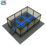 Ok Playground Easy Installation Small Wholesale Cheap Trampoline