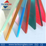 6.38mm Ford Blue PVB Laminated Float Glass with Ce&ISO9001