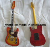 Tremolo Bridge Cherryburst Color Tele Electric Guitar