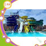 Used Aqua Water Park Fiberglass Slide Water Play Equipment Price