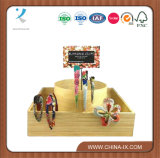 Custom Wooden Girls Accessories Display Stand Hairpin Display