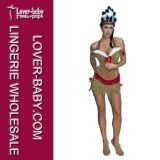 Women Native American Princess Indian Cosplay Costume (L1395)