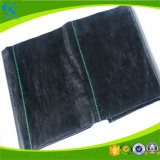 Black PP Woven Plastic Mulch Film Agricultural Ground Cover