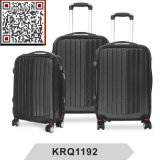 ABS 3PCS Hard Shell Travel Trolley Luggage Bag
