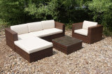 Hotel Wicker Rattan Garden Patio Outdoor Furniture Sofa Cover (FS-2260-2264)