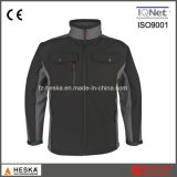 Wholesale Waterproof Mens Woven Workwear Softshell Jacket