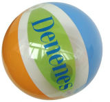 Transparent Customized Toy Ball for Beach on Promotion