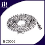316L Stainless Steel 2.4mm Ball Bead Chain