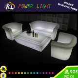 Outdoor Furniture LED Glowing Sofa
