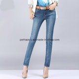 High Quality Charming Comfortable Slim Denim Straight Ladies Jeans