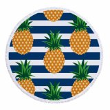 Fruits Design Microfiber Round Beach Mats for Wholesale