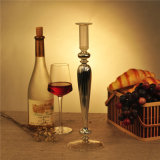 Electroplating Glass Candle Stick
