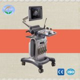 Ce Approved Medical Equipment 4D Color Doppler Ultrasound Scanner with Trolley (YJ-U10T)