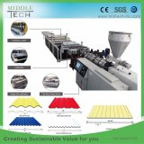 China Wholesale Price Plastic PVC/UPVC+PMMA/ASA Corrugated Foaming Roofing Tile Roller Forming Machine